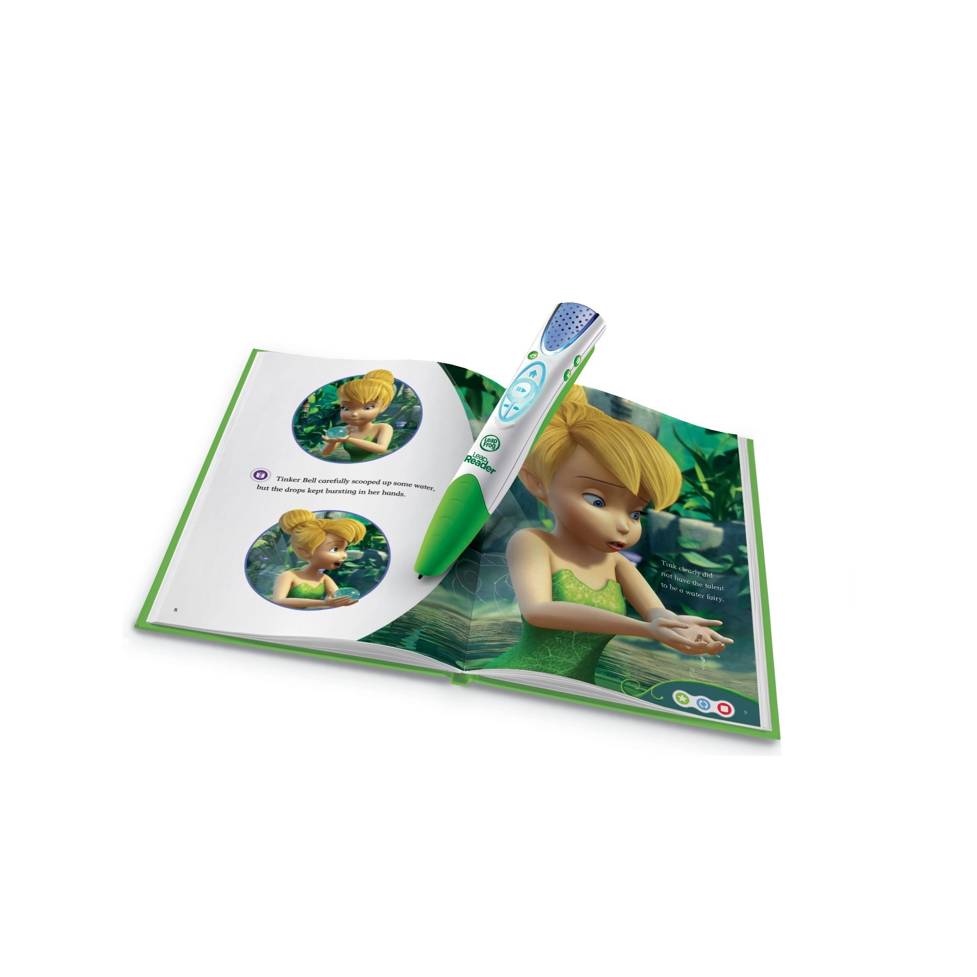LeapFrog LeapReader Book: Disney Fairies Tinker Bell's True Talent (works with Tag) by LeapFrog (Image #2)