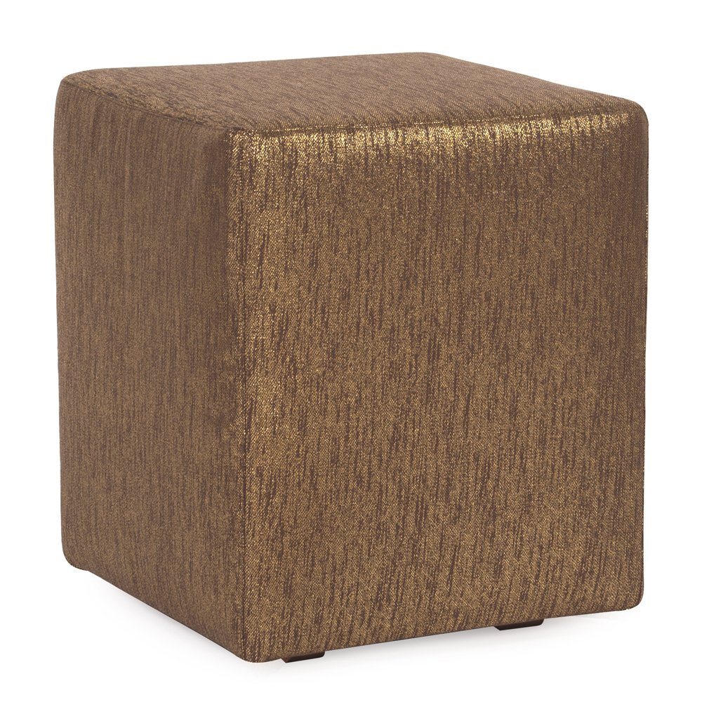 Howard Elliott C128-293 Slipcover for Universal Cube Ottoman, Glam Chocolate