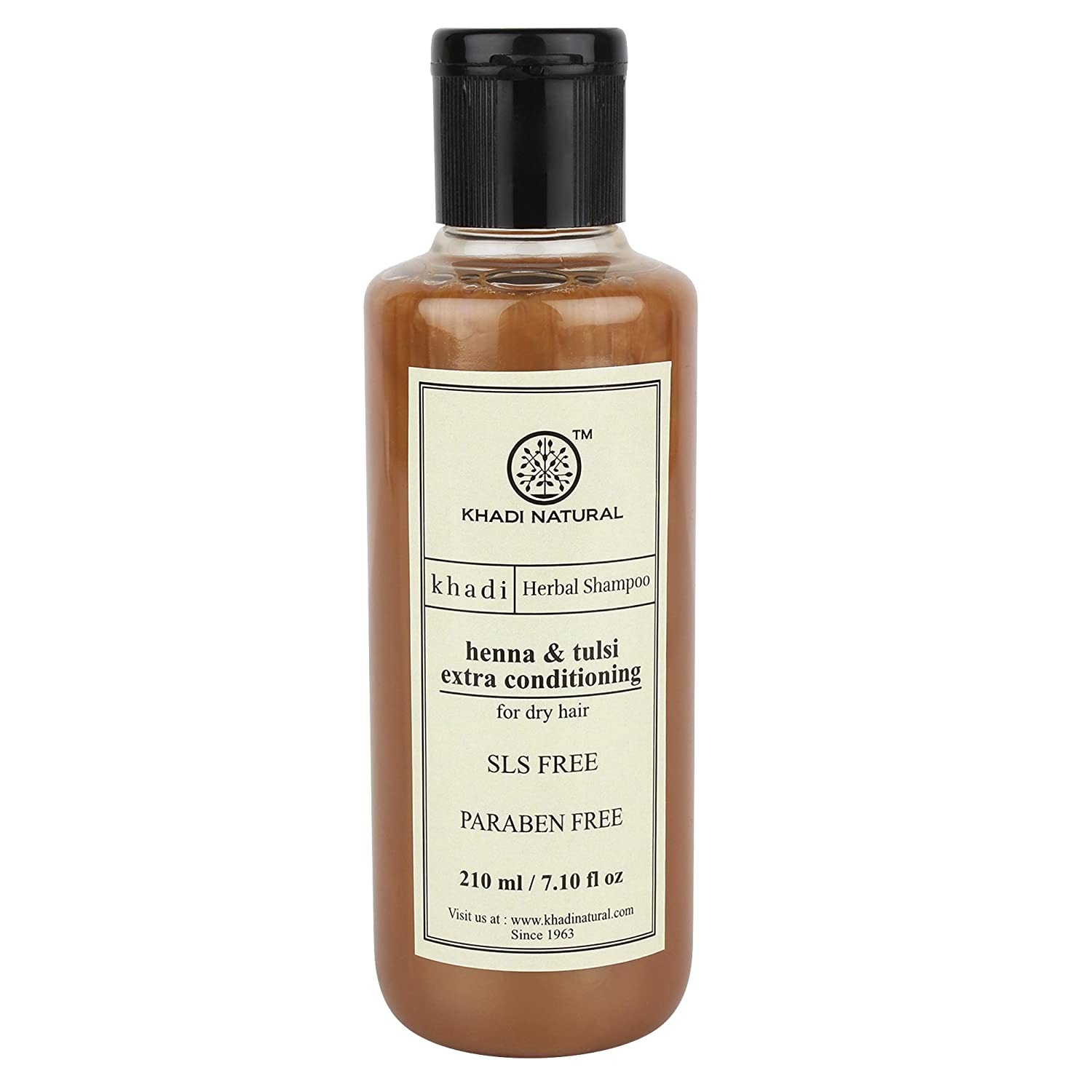 Buy Khadi Natural Heena And Tulsi Extra Conditioning Hair Cleanser