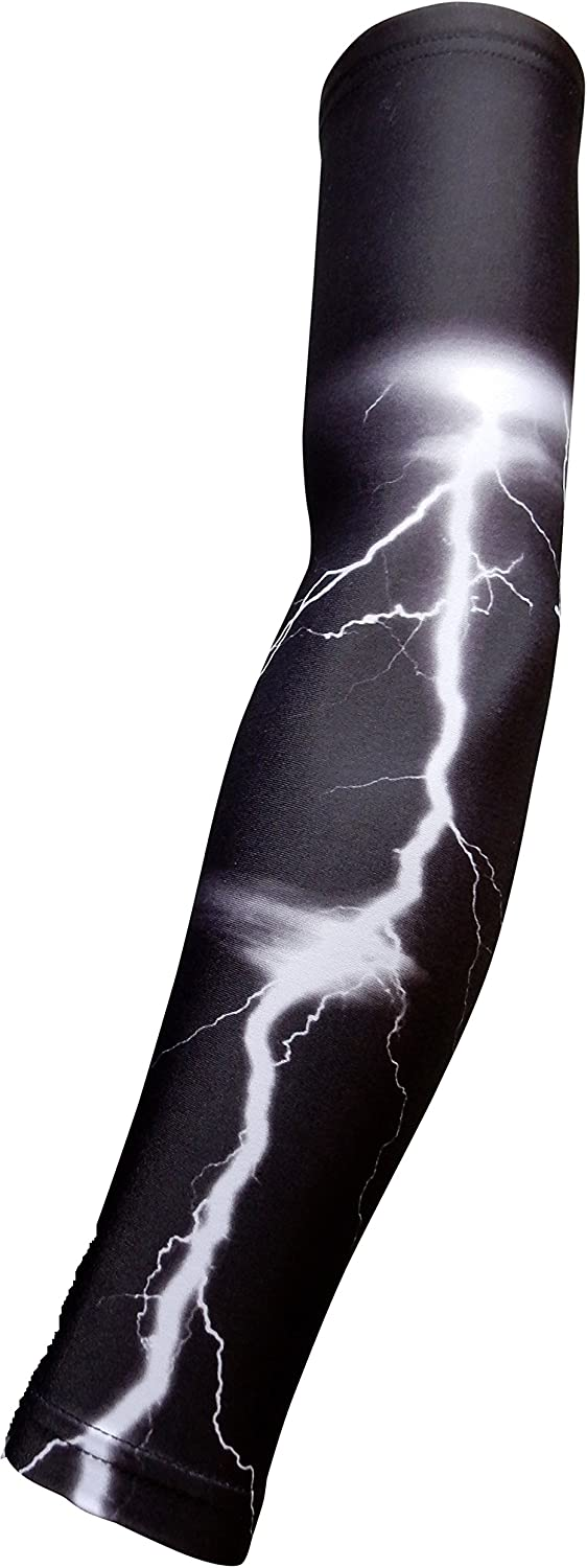 1 Sleeve Sports Farm Youth /& Adult Sizes Moisture Wicking Compression Arm Sleeve Over 100 Colors Available In Our Store