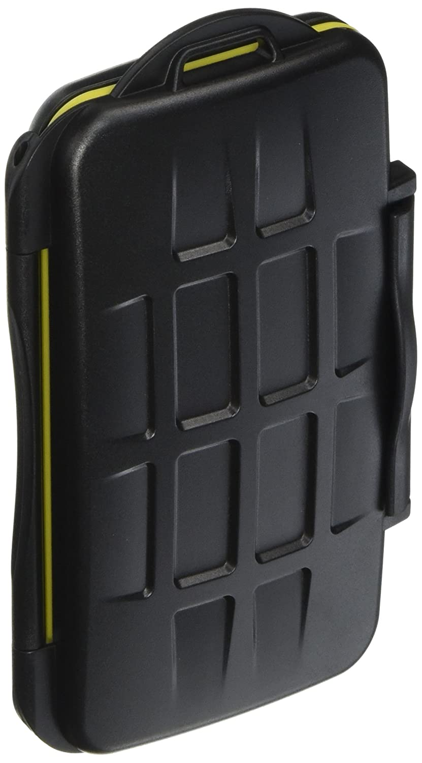 JJC MC-SD12 Water Resistant Holder Storage Memory Card Case fits 12 SD Cards JJC_MC-SD12