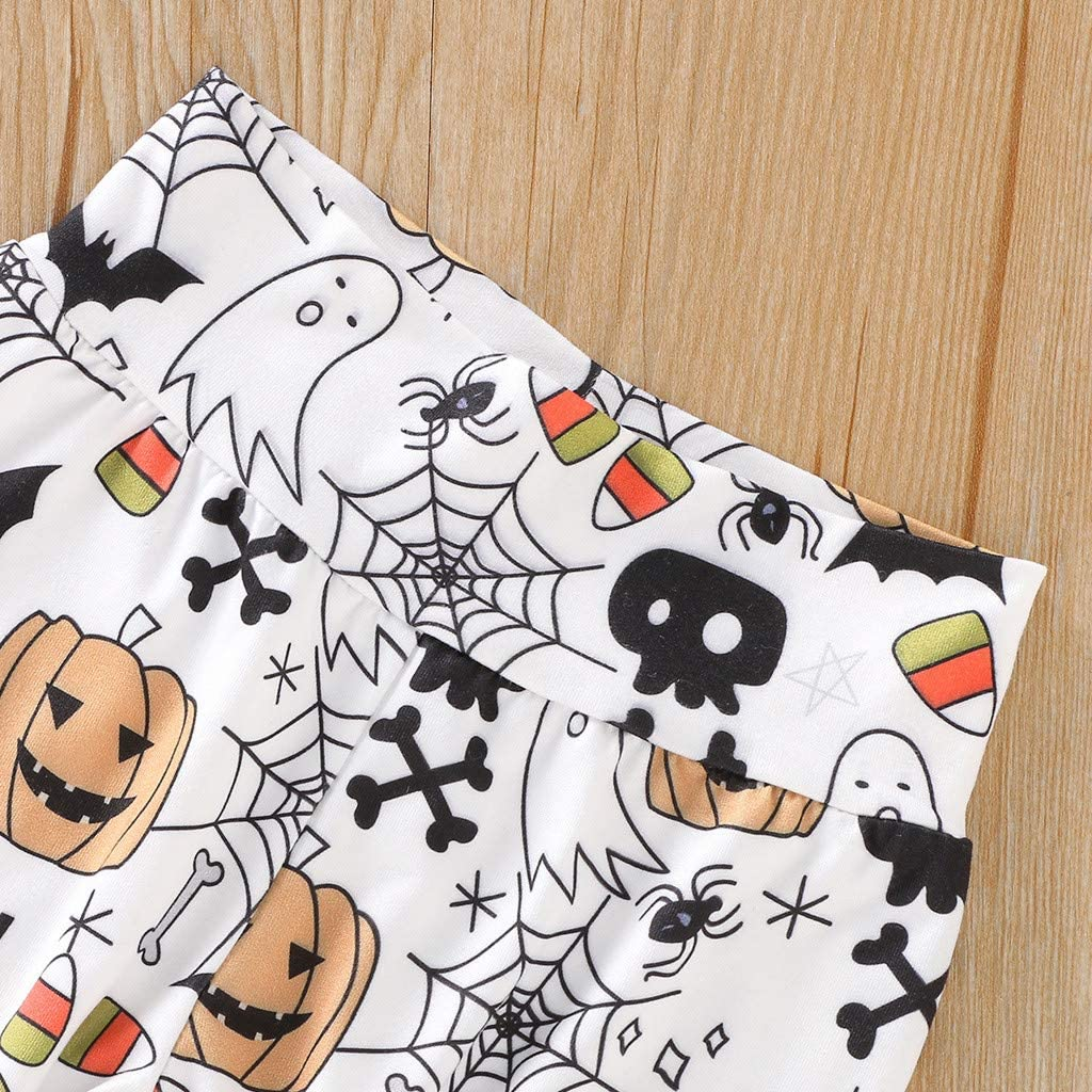Ropa Bebe Ni/ña Oto/ño Invierno Fossen Reci/én Nacido Ni/ña Peleles Disfraz Halloween Bebe Trajes Monos de Manga Larga Pantalones Disfraces Halloween Bebe