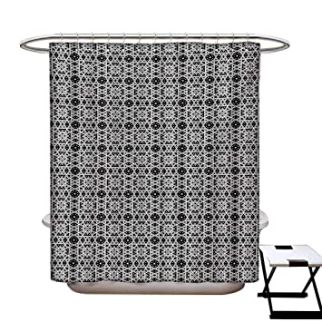Amazon.com: Cortina de ducha tradicional de decoración de ...