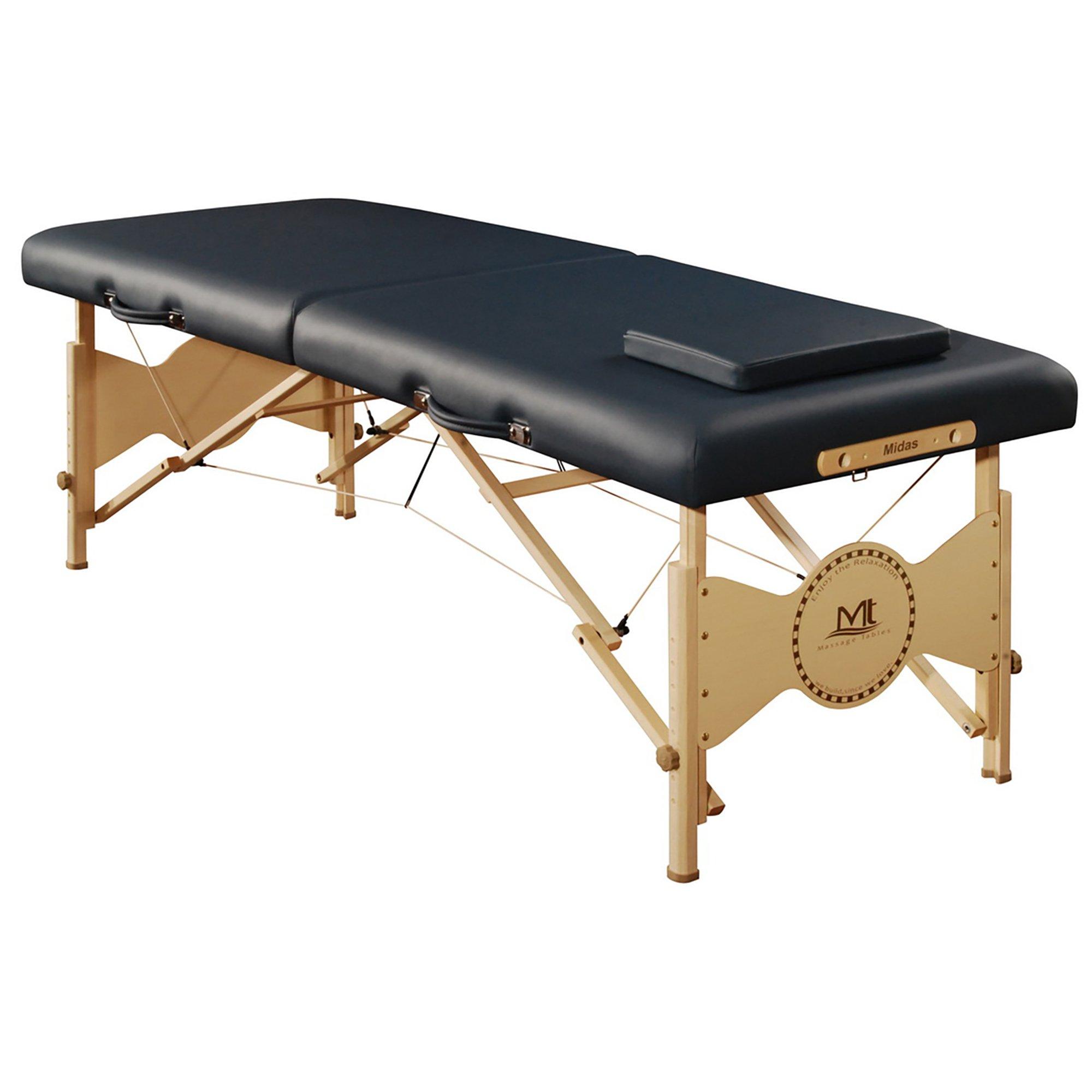 Mt Massage Midas Entry 28'' Professional Portable Massage Table Package(Agate Blue)