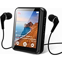MP3 Player Bluetooth 5.0 Touch Screen Music Player 16GB Portable mp3 Player with Speakers high Fidelity Lossless Sound…