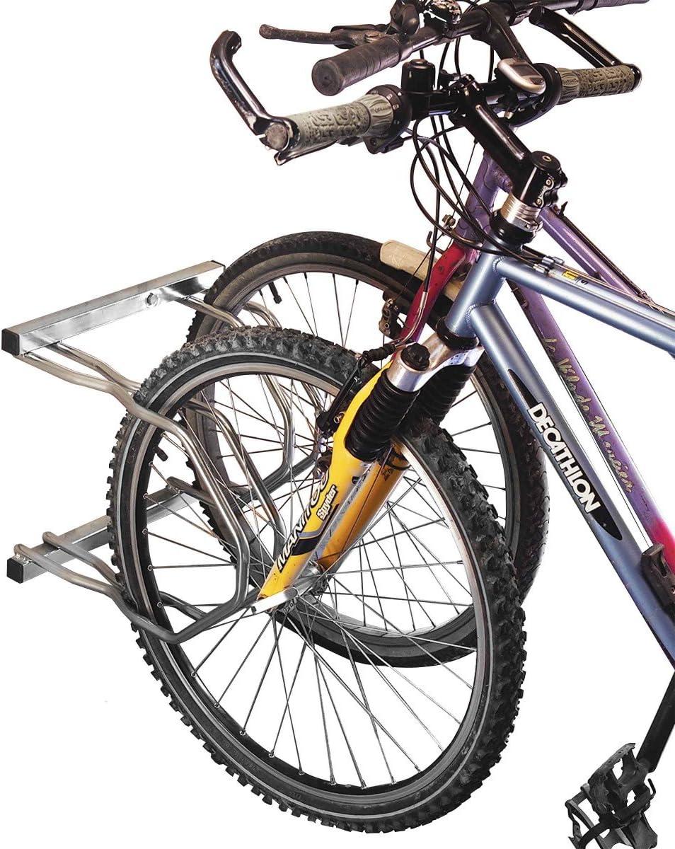 Mottez - Aparcabicicletas (2 Bicicletas, 2 Niveles): Amazon.es ...