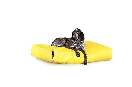 Smoothy cama para perros Perros Cojín perro cesta dogsm oothy XXL en amarillo
