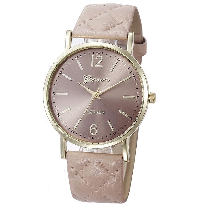 Amazon.com: Watch, Womens Watch, Fashion Geneva Roman Analog Alloy Quartz Wrist Watch Retro Exquisite Luxury classic Bracelet Casual business Watches For ...