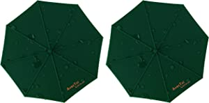 AvecToi Set of 2 Food Grade Silicone Drink Cover Suction Lids, Keep Drinks Warm or Cold Longer (Dark Green)