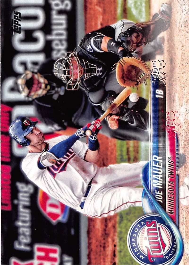 Amazon.com: 2018 Topps #231 Joe Mauer Minnesota Twins ...