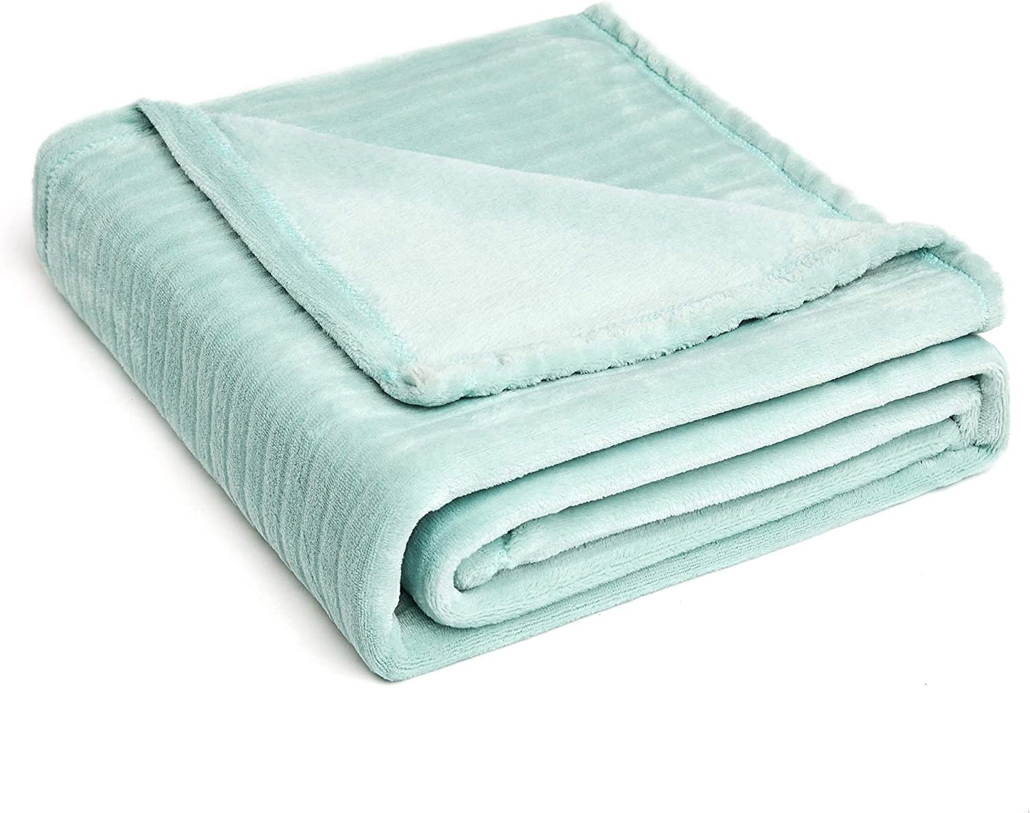 FFLMYUHUL I U Fuzzy Throw Blanket with Super Soft and Warm Throw Flannel Blanket Mint