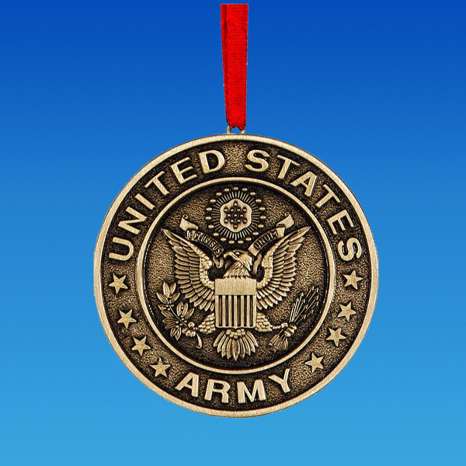 United States Army™ Round Logo Christmas Ornament