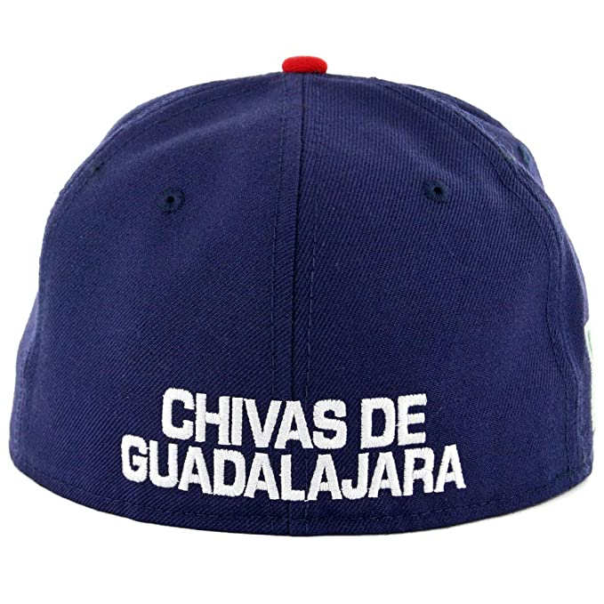 Amazon.com: New Era 59 FIFTY sombrero Chivas de Guadalajara ...