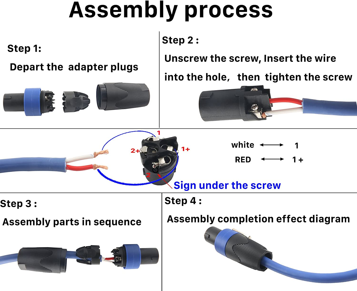 Speakon Connector Wiring Diagram from images-na.ssl-images-amazon.com