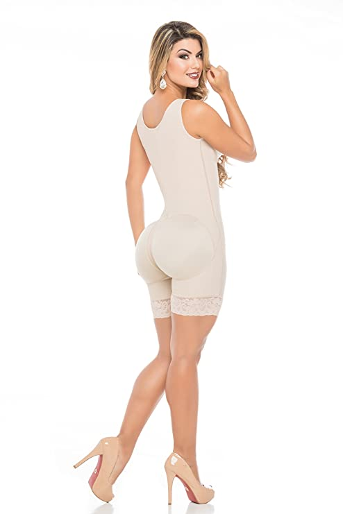 Fajas Colombiana Women Bodyshaper Short High Back Espalda Alta at Amazon Womens Clothing store: