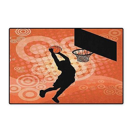 Alfombra de Baloncesto, Alfombra pequeña para Puerta ...