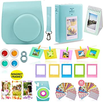 FujiFilm 70100127831/Kit of 4/Selfie and Close Up Lens for Instax Mini 8 Multi-Colour