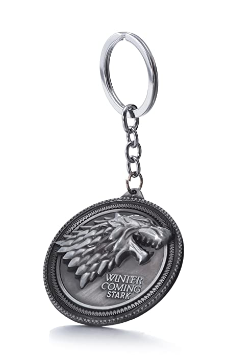Amazon.com: Game Of Thrones House Stark Sigil Crest metal ...