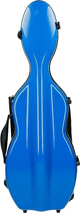 Estuche para violín Fibra de vidrio Ultra Light 4/4 rey azul M-Case: Amazon.es: Instrumentos musicales