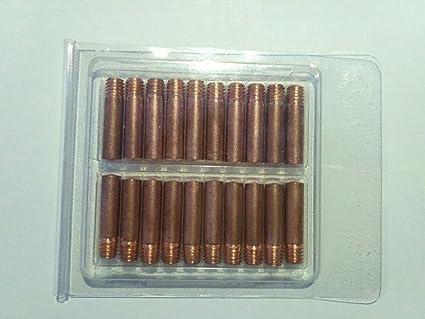 Contact Tips 11-35 0.035 for Tweco Mini//No.1 /& Lincoln Magnum 100L MIG Welding Gun-40PK
