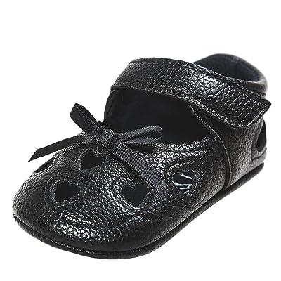 Pour 0-18 mois Bébé,Transer ® Mignon bébé fille bowknot Soft semelle chaussures anti-dérapant sandales
