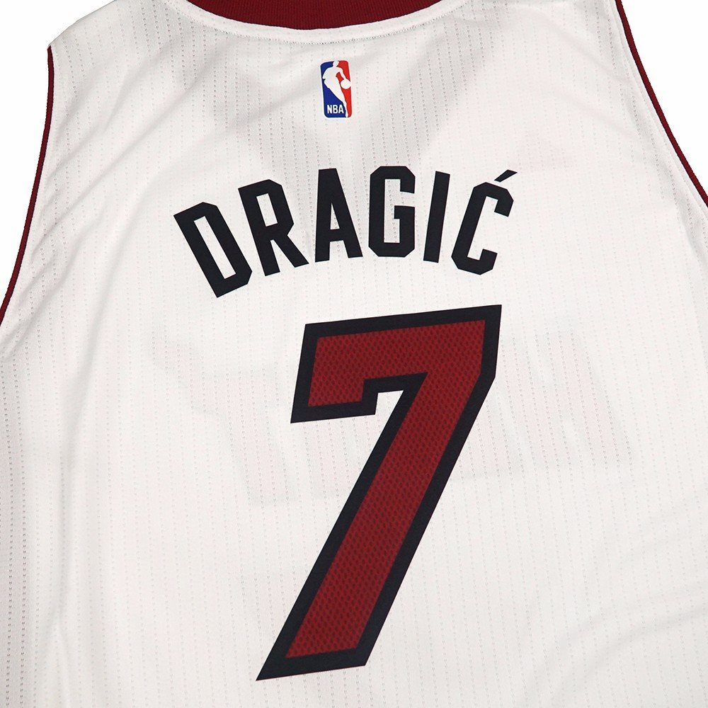 ... 7サイズL Amazon.com Goran Dragic Miami Heat NBA Adidas White Official  Climacool Home Swingman Jersey For ... f8a149cd0
