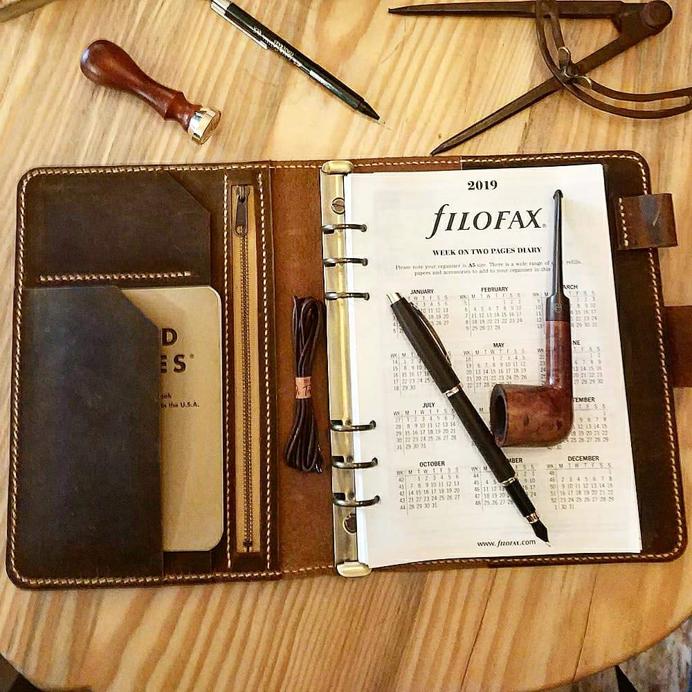 Amazon.com: Leather Travel Journal A5 Size Agenda,Leather ...