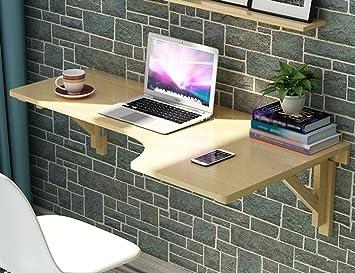 Mural table informatique erru table de salle à manger en bois