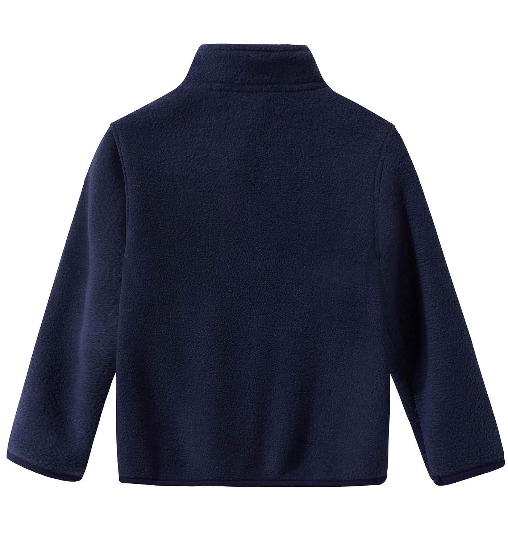 Spring/&Gege Fleece Jacket Classics Full Zip Blouson de Sport Gar/çon