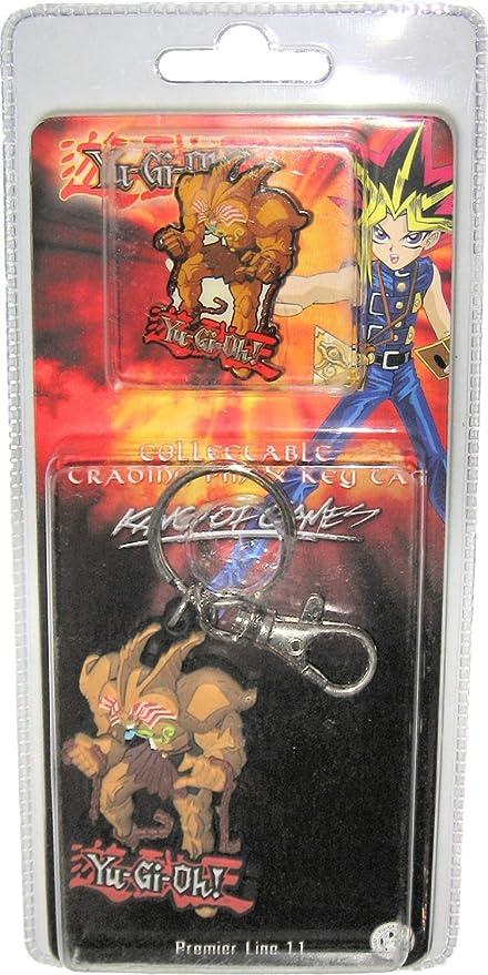 Kazuki Takahashi YuGiOh Exodia Pin and Keychain