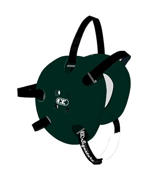 b65d504ff5 Amazon.com : Cliff Keen Custom Signature Headgear - Dark Green/Black ...