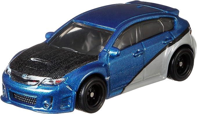 Blue Hot Wheels Fast /& Furious HA13 Subaru WRX STI