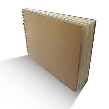 Eachgoo Espiral Encuadernación Cuaderno Tapa Dura Cuaderno Dibujo