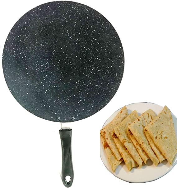 Kaiserhoff Roti Tawa Pancake Crepe Pan Frypan Shallow Rim 25cm Non Stick KH1515