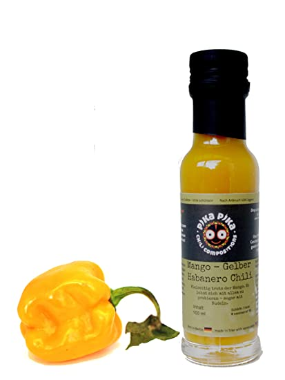 Mango - Habanero Amarillo - Salsa picante tropical
