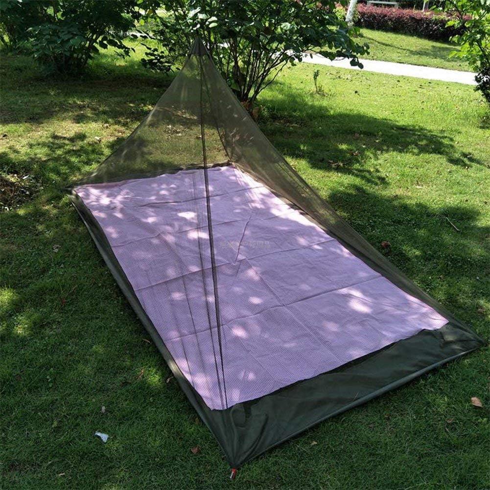 ANGTUO moustiquaire simple de triangle pour camper Filets ext/érieurs de moustique 220 * 120 * 100cm