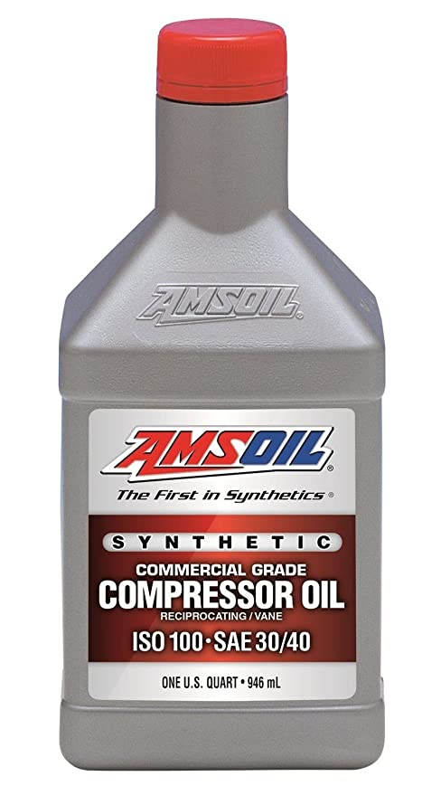 Amazon.com: 1 Quart Qt. Amsoil Synthetic Air Compressor Oil ISO-100 Commercial Grade 946 mL: Home Improvement