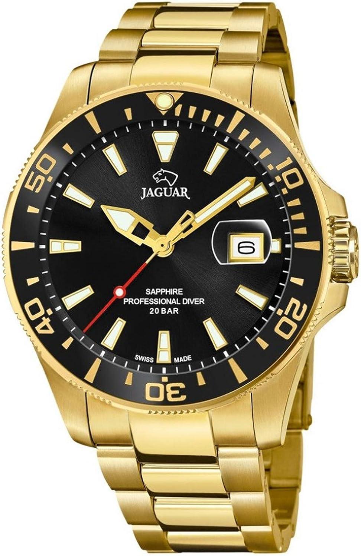 JAGUAR Reloj Executive J877/3 Caja 43,5MM (Swiss Made) Dorado