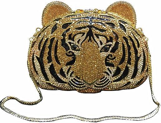 Tiger Eye Stone Purse BlingCharmed PullAttachable Bling