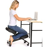 Amazon.com deals on Papafix Ergonomic Kneeling Chair Faux Leather
