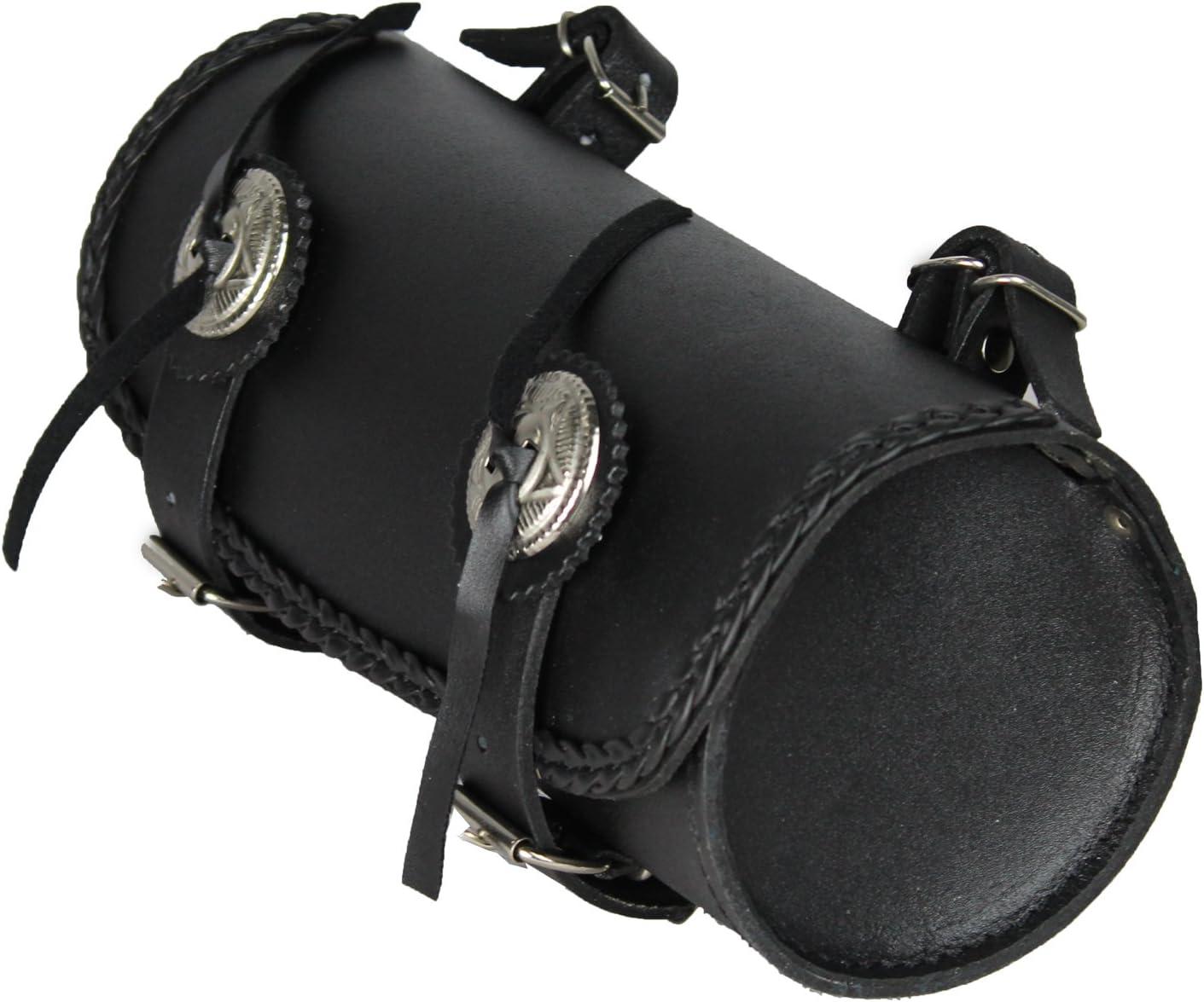 Lovo Borsa a rullo porta attrezzi per moto 4 l materiale: pelle