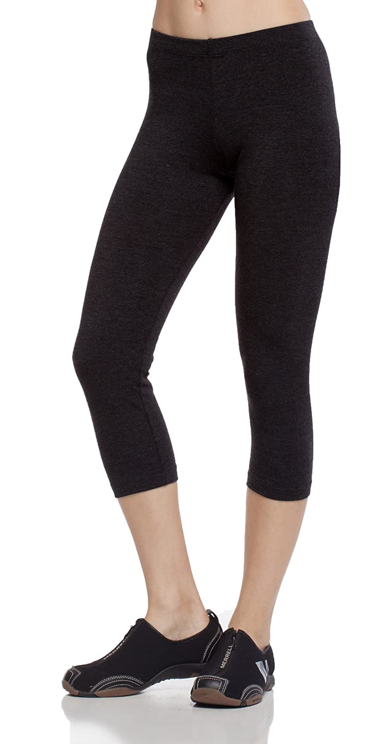 A.S PLUS Domestic Good Weight Elastic W.Band Capri Legging Yoga/Gym Pants for sale