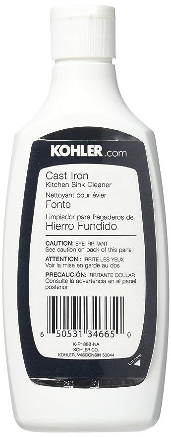 Amazon.com: Kohler K1012525 Kitchen Sink Cleaner, 8 Oz.: Home Improvement
