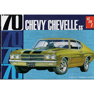 AMT 1 25 1970 Chevy Chevelle 22 2T, AMT1143M: Toys & Games