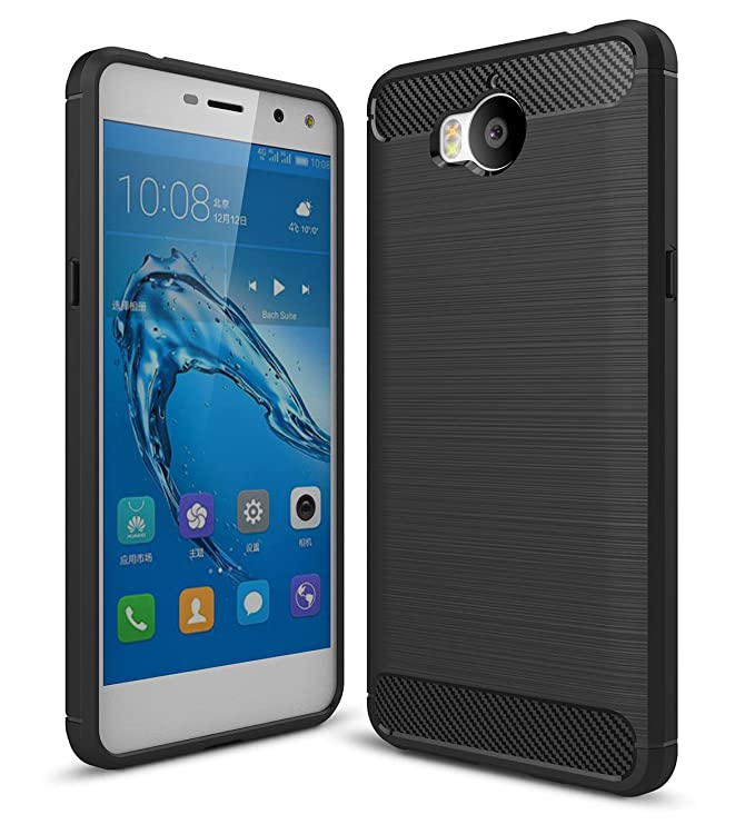 7 opinioni per Cover Huawei Nova Young Nero , ivencase Custodia Huawei Y5 III TPU Silicone Case