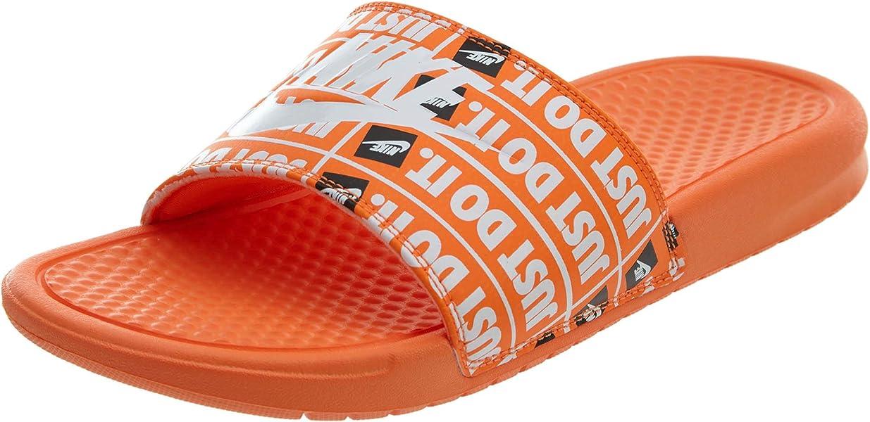 030e83dbb Amazon.com | NIKE Benassi JDI Print Mens 631261-800 Size 8 | Sandals