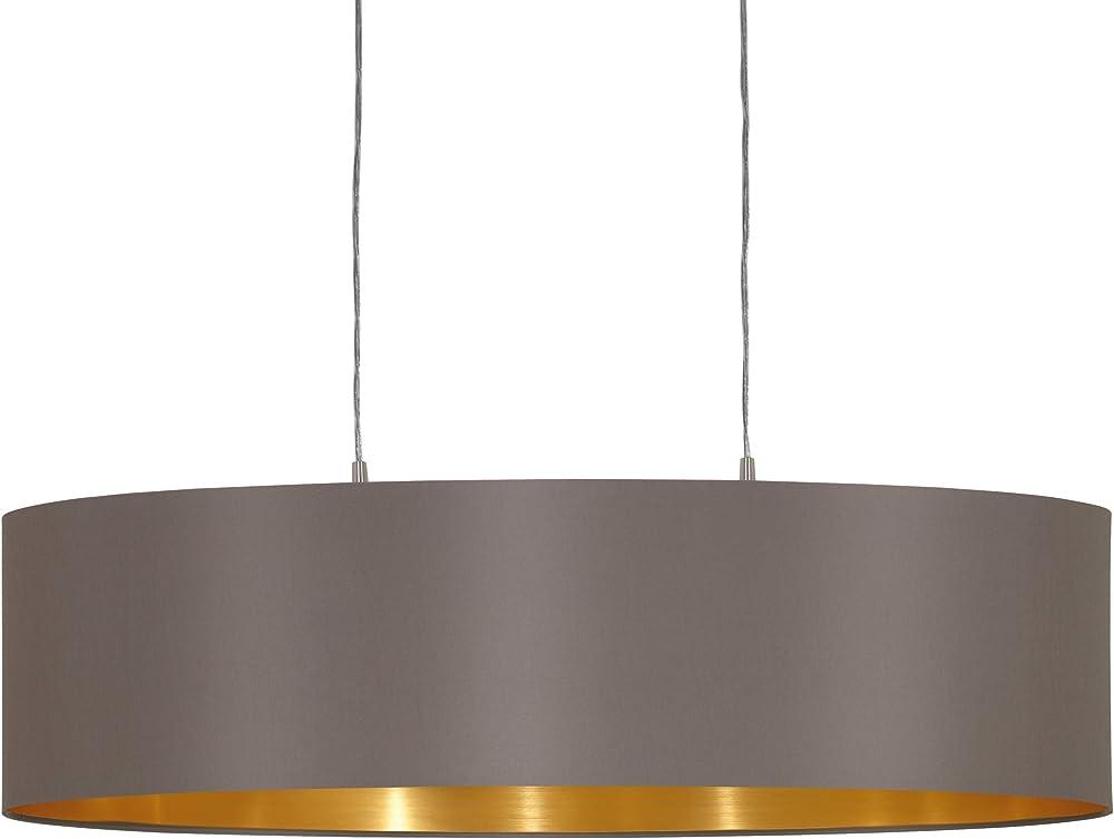 Eglo, lampada a sospensione maserlo 31614