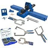 Kreg K5MS K5 Master System With Screw Kit & 3 Piece Clamp Set