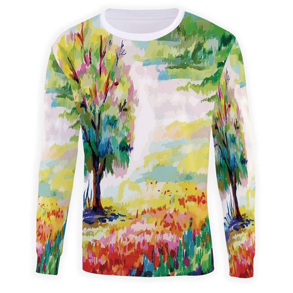 Mens Nature Sweatshirt Pullover