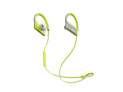 Panasonic Wings Ultra-Light Wireless Bluetooth Sport Earphones Yellow (RP-BTS35-Y